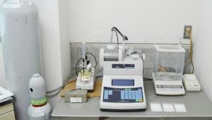 乾燥加工前原料水分の測定