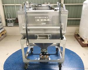 自動梱包装置に乾燥済み原料投入